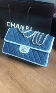 Chanel Denim Flap