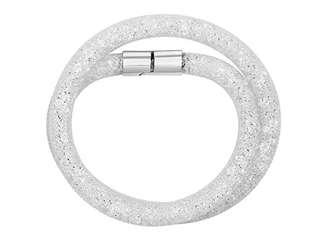 swarovski stardust grey double bracelet