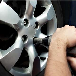 WHEEL  BALANCING & WHEEL ALIGNMENT SERVICE