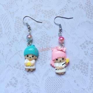 Little Twin Stars handmade earring