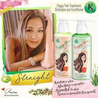 K Happy Hair Shampoo &  Conditioner✨