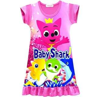 Baby shark sleep dress