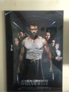 X-Men Poster with Frame
