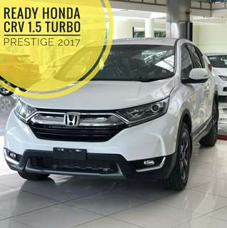Ready Honda CRV 1.5 Turbo Prestige 2017