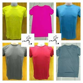 Active dry Colored Plain Drifit/Dry-fit shirts Jersey 15 colors Available
