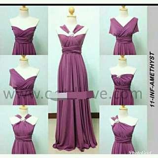 Infinity Dress set of 12 plus freebies
