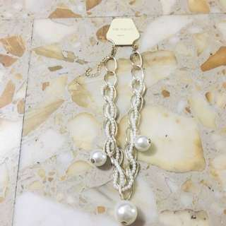 BNIP Gold necklace with pearl