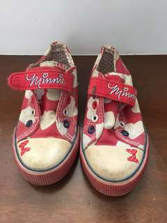 DISNEY Mickey Mouse rubber shoes