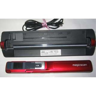 MagicScan Portable Scanner with Dock