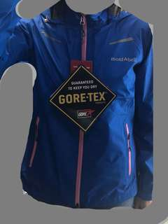 New* Montbell gore-tex 防水風褸 mont-bell