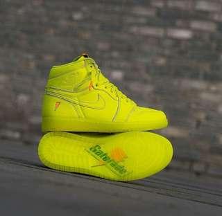 "Nike Air Jordan 1 ""Gatorade"""