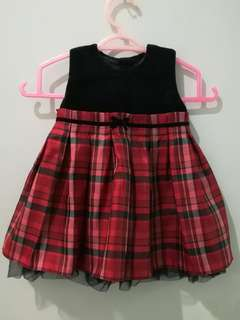 Cute Red Baby Dress