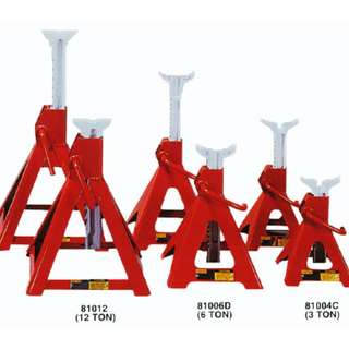 Heavy Duty Strong Jack Stand (Plated Base)