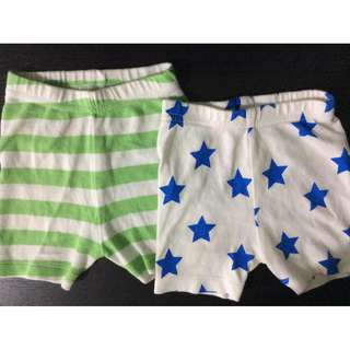2 pcs Short for NB