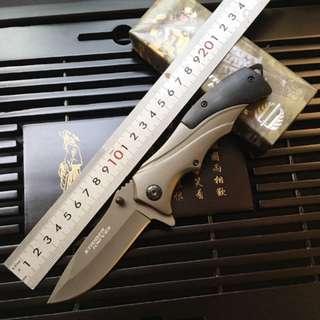 STRIDER Knife Mick B46 Knife 挺进者野营军刀 米克B46折叠刀#228