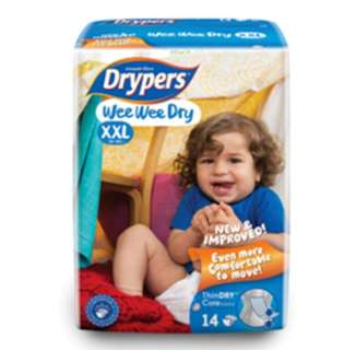Drypers Size XXL