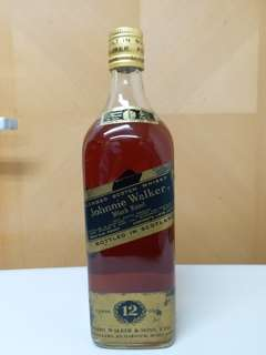 J W 70年代 Black Label 1875ml