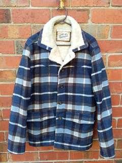 Warm winter coat by Industrie