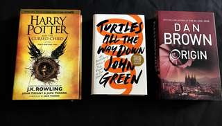 Current bestsellers! Dan Brown/ Harry Potter/John Green