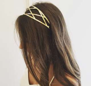 KOOKAI Sold Out Gold Headband