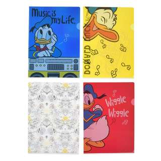 Japan Disneystore Disney Store Donald Duck Birthday 2018 Clear File