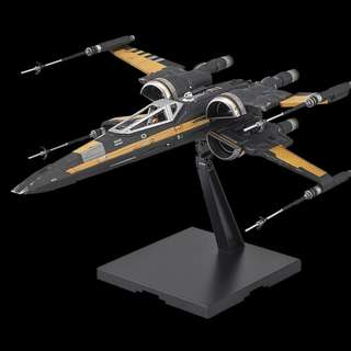 Bandai 1/72 Poe Xwing Boosted