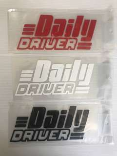 Car stickers size 14x7cm