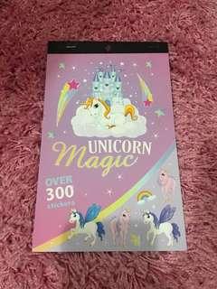 Unicorn Magic Stickers Booklet