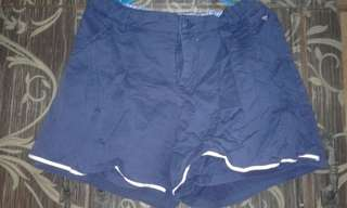Navy blue short