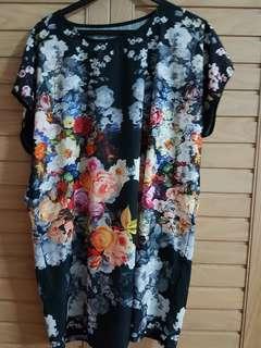 Korean made floral dress