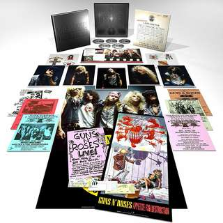 Guns N Roses Appetite For Destruction Deluxe Edition , Super Deluxe Edition 4 CD + Bluray DVD sealed original USA pressing Pre-order