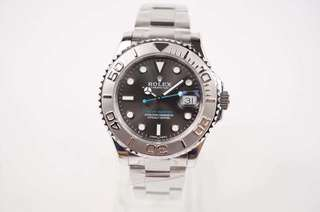 Rolex Yatch-Master Radium Bezel Blue Hand Dials (Swiss 3135 Engine)