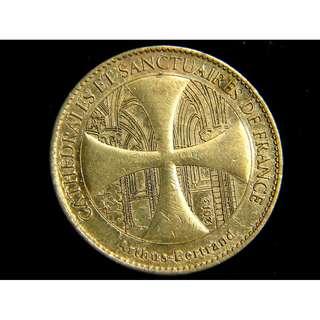 法蘭西斯特拉斯堡主教座堂及聖母院黃銅紀念章