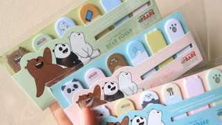We Bare Bears Sticky Notes