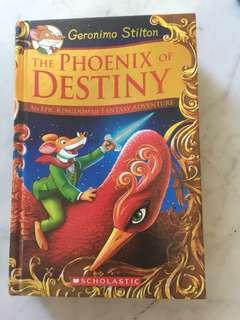 Geronimo Stilton Books-The Phoenix of Destiny