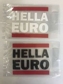 Car stickers size 9x8cm