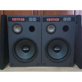 BMB SPEAKERS, MADE IN JAPAN