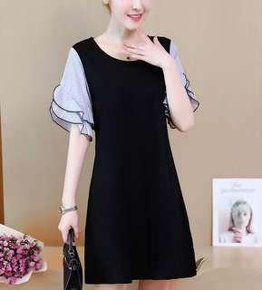 (L - 5XL) Plus Size Dress