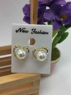 Earrings - Sweet Heart pearl