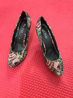 aldo floral shoes size 36
