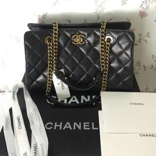 CHANEL CHAIN BAG COMPLETE LAMPO ZIPPER