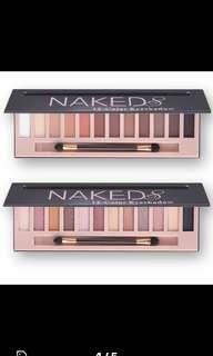 Naked eyeshadow pallet