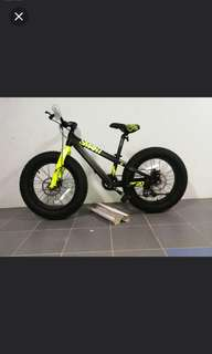Brand New Cofidis smart big foot ( fat bike) 20 inch kids bike Size: 20*10""