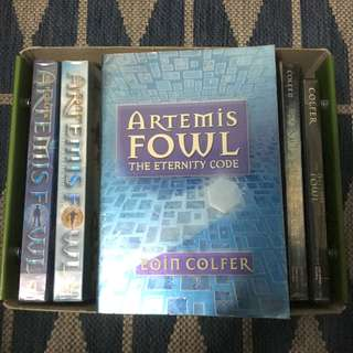 Artemis Fowl The Eternity Code by Eoin Colfer