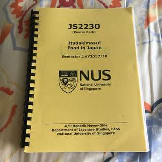 JS2230 Course Packet