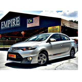 TOYOTA VIOS 1.5S ( A ) ORIGINAL TRD SPORTIVO S SPECS !! COMES WITH KEYLESS ENTRY PUSH START AND ETC !! FULL SERVICE RECORD !! PREMIUM HIGH SPECS !! ( X 7732 X ) 1 CAREFUL OWNER !!