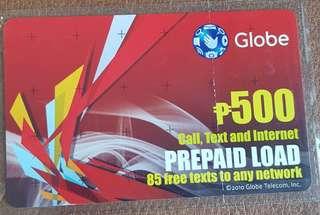 Prepaid Load Card