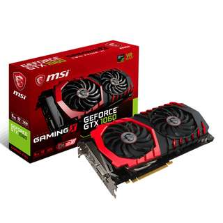 MSI GAMING GeForce GTX 1060 6GB GDDR5 DirectX 12 VR Ready (GeForce GTX1060 GAMING X 6G) 3 yrs Local Warranty