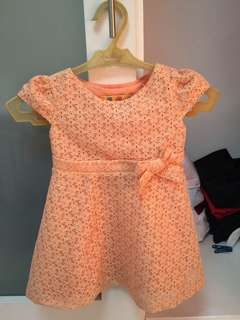 Cute lace dress for baby girl