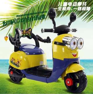 Rechargeable Minions Car